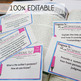 Nonfiction Info Text Analysis Task Cards, Comprehension, P
