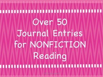 Nonfiction Journal Entries