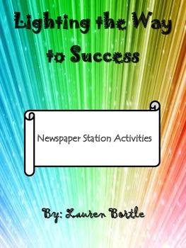 Nonfiction Newspaper Station Activities