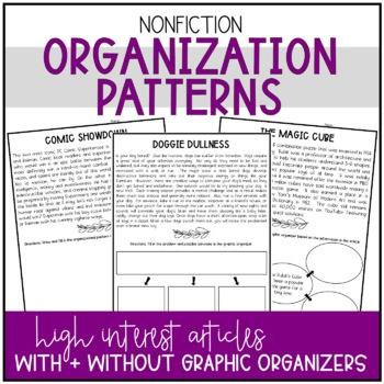 Nonfiction Organizational Patterns