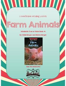 Nonfiction Packet - Scholastic's True or False Book #4: FA