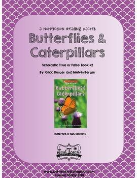 Nonfiction Packet - True or False Book #2: BUTTERFLIES & C