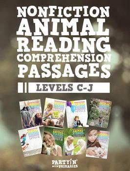 Nonfiction Reading Comprehension Passages Bundle: Guided R