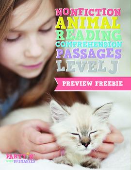 Nonfiction Reading Comprehension Passages: GR Level J Prev