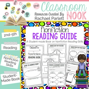 Nonfiction Reading Guide {Student Made Book on Nonfiction