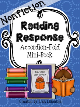 Nonfiction Reading Response ~ an Accordion-Fold Mini-Book