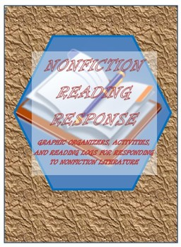 Nonfiction Reading Response with Many Common Core Activities