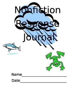 Nonfiction Response Journal
