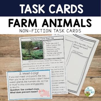 Nonfiction Task Cards- April