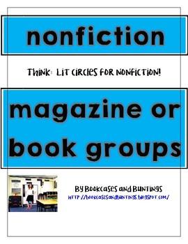 Nonfiction Text Groups (literature circles for nonfiction text!)