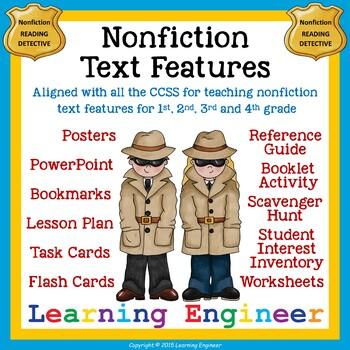 Nonfiction Text Features (Informational Text Features) Non