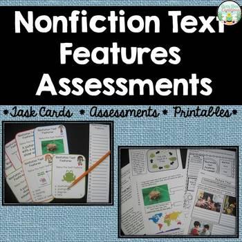 Nonfiction Text Features Assessments