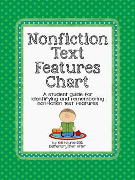 Nonfiction Text Features Chart