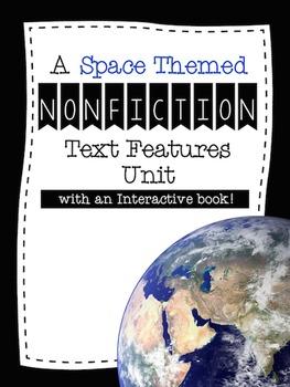 Nonfiction Text Features Unit {Interactive Book, Worksheet