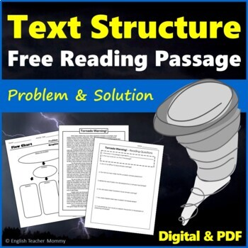 Nonfiction Text Structure Article- Tornado Warning!