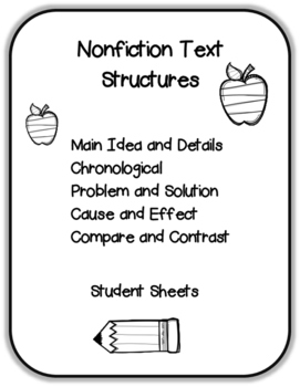 Nonfiction Text Structures Printables
