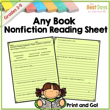 Nonfiction Weekly Reading Practice