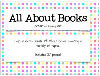 Nonfiction Writing Pages {Cute Student Work Pages}
