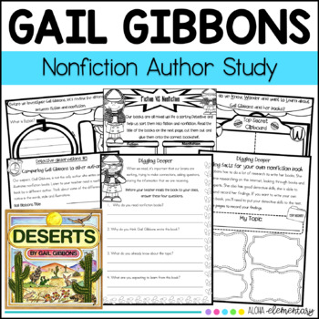 Nonfiction author study {{GAIL GIBBONS}}