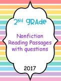 Nonfiction passages with TRC question stems