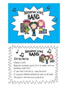 Nonsense Word Bang Dibles practice