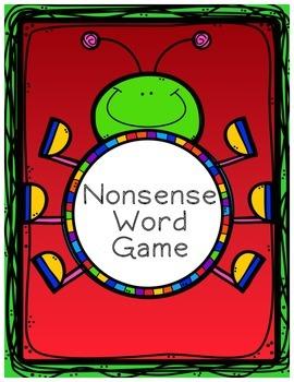 Nonsense Word Bug Game