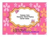 Nonsense Word Fluency Center Game-Common Core Aligned