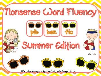 Nonsense Word Fluency (NWF) Game Summer Edition