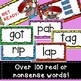 Nonsense Word Fluency Game