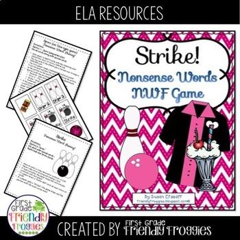Nonsense Word Fluency - Strike- NWF practice for Dibels an
