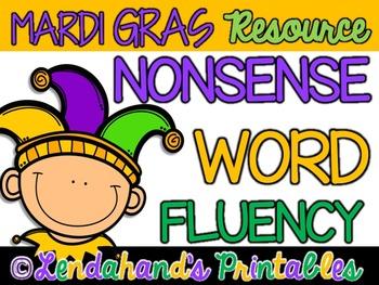 Nonsense Word Fluency R.T.I. Pack by Ms. Lendahand (Mardi