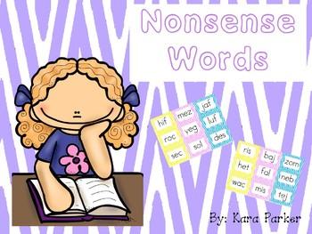 Nonsense Words