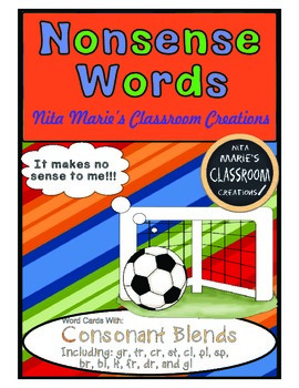 Nonsense Words (Consonant blends)