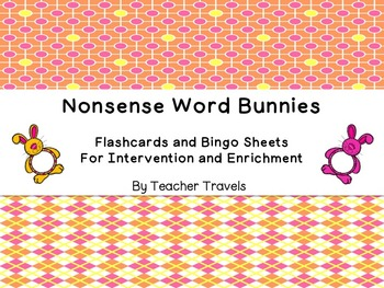 Nonsense Words Easter Theme