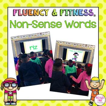 Nonsense Words Fluency & Fitness Brain Breaks Bundle
