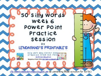 Nonsense Word Fluency Powerpoint by Powerpoint by Ms. Lend