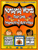 Nonsense Words - Thanksgiving - Interactive Activities. (f