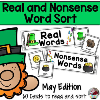 Nonsense Words and Real Words Sort- March