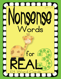 Nonsense Words 3