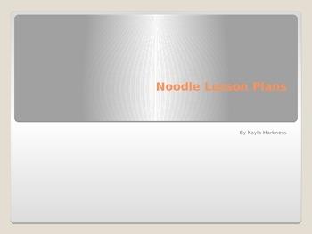 Noodle Lesson Plans
