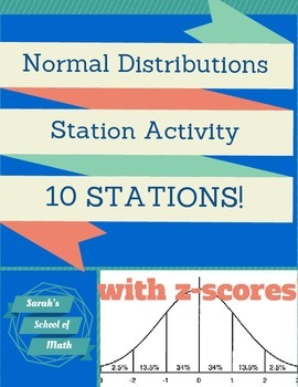 Normal Distributions Station Activity: 10 stations! (with