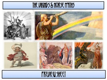Norse Mythology & Viking Beliefs - Complete Unit