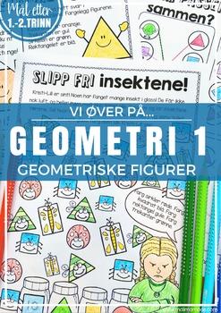 Norsk: Geometri 1 - Geometriske figurer [Vi øver-serien] [BM&NN]