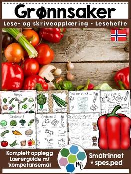 Norsk: Grønnsaker - lese- og skriveopplæring inkl faktabok