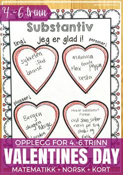 Norsk Valentine-pakke - MELLOMTRINNET [BM & NN]