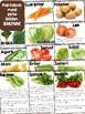 Norsk faktabok: Grønnsaker! Lesing, naturfag og mat&helse!