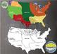 Maps: North America Native American Cultural Regions {Mess