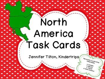 North America Task Cards