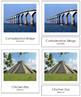 North American Landmarks: 3-Part Cards
