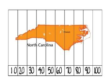 North Carolina Counting Puzzle